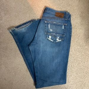 BKE Alec Button Fly Jeans